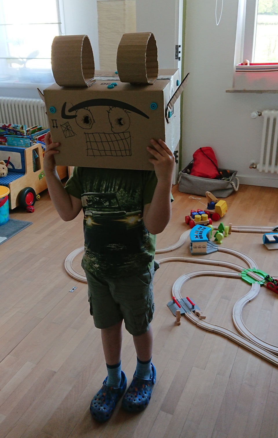 Robot Helper Costume