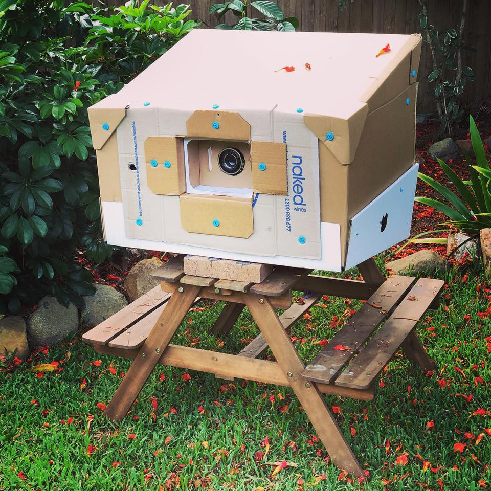 Fully Functional Pinhole Camera