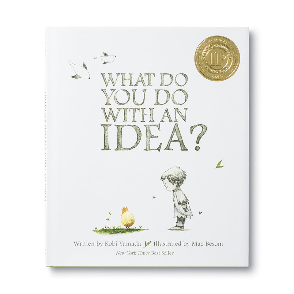 Books to Inspire: What Do You Do With An Idea?