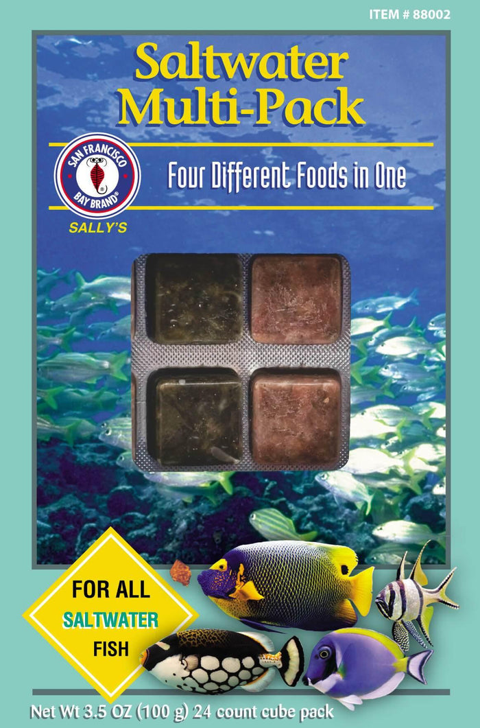 Saltwater Multi-Pack Cube (Frozen)