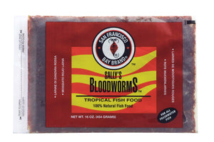 Bloodworms Flatpak  (Frozen) - Corals Fish and Beyond