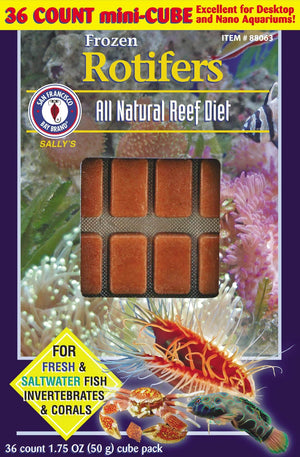 Rotifers Cubes 1.75oz (Frozen) - Corals Fish and Beyond