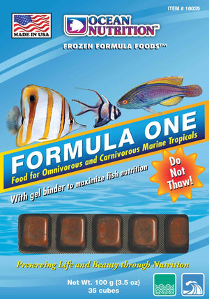 Formula One Cube (Frozen) - Corals Fish and Beyond