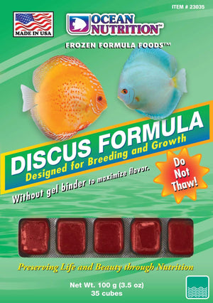 Discus Formula Cube (Frozen) 3.5oz - Corals Fish and Beyond