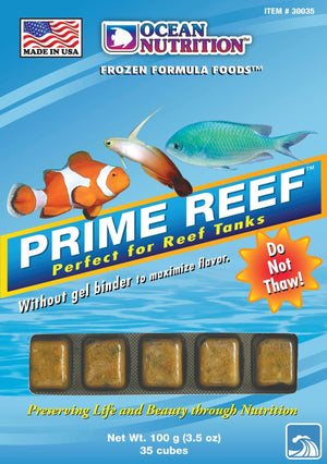 Prime Reef Cube (Frozen) - Corals Fish and Beyond