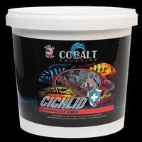 Cobalt Cichlid Flake - Corals Fish and Beyond