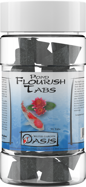 Seachem Pond Flourish Tabs™ - Corals Fish and Beyond