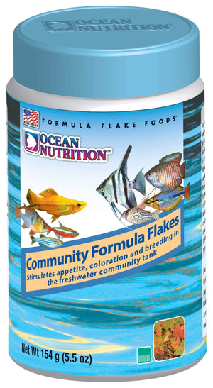 Community Formula Flake Food - Corals Fish and Beyond