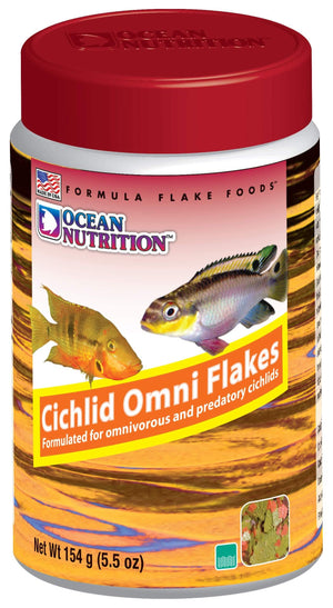 Cichlid Omni Flake Food - Corals Fish and Beyond