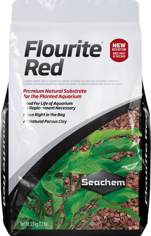 Flourite Red Gravel - Corals Fish and Beyond