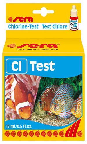 Sera Chlorine-Test (Cl) 15ml - Corals Fish and Beyond