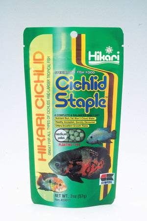 Cichlid Staple Medium Pellets - Corals Fish and Beyond
