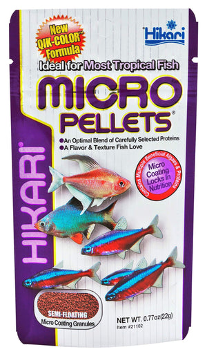 Micro Pellets - Corals Fish and Beyond