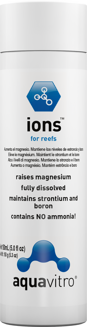 AquaVitro ions™ - Corals Fish and Beyond