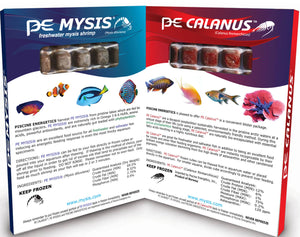 PE® Mysis Shrimp and Calanus Cubes 8oz (Combo Pack) - Corals Fish and Beyond