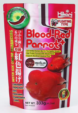 Blood Red Parrot+™ - Corals Fish and Beyond