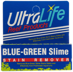 Blue Green Slime Stain Remover - Corals Fish and Beyond