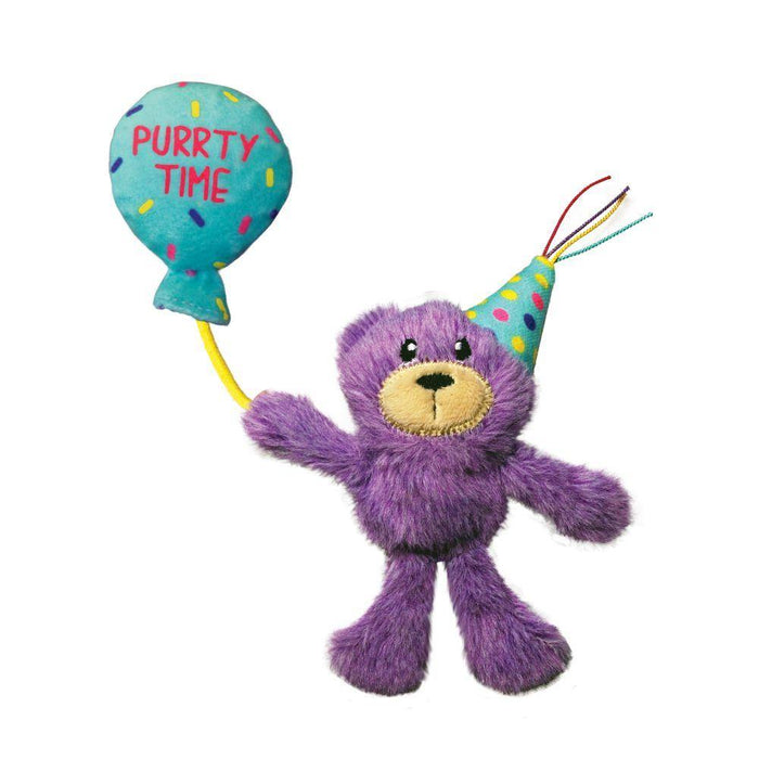 KONG Cat Occasions Birthday Teddy