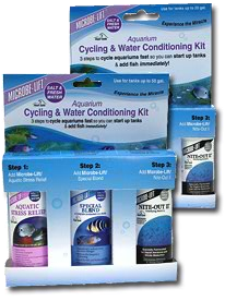MICROBE-LIFT® 3 Piece Aquarium Cycling and Water Conditioning Kit