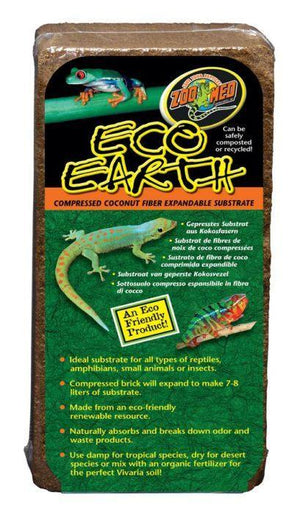 Zoo Med Eco Earth® Coconut Fiber Substrate