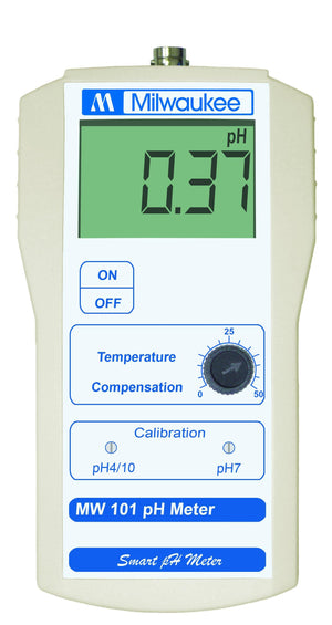 Milwaukee Instruments MW101 pH Meter - Corals Fish and Beyond