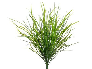 "Tideline 18"" Wild Willow Grass Bush Green/Dark - Corals Fish and Beyond"