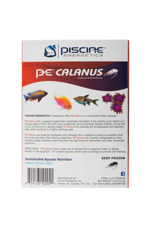 PE® Frozen Calanus - Corals Fish and Beyond