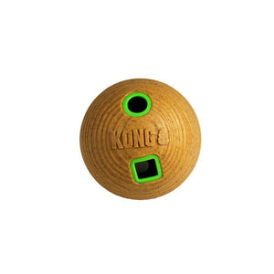 KONG Bamboo Treat Dispenser Dumbbell Medium - Corals Fish and Beyond