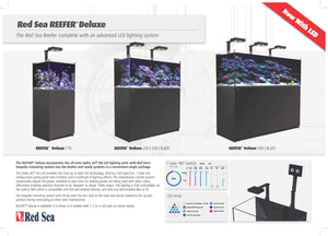 Red Sea Reefer Deluxe XL 525 with AI Hydra LED Black