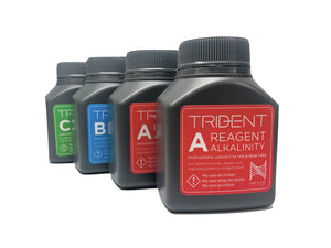 TRIDENT REAGENT KIT - Corals Fish and Beyond