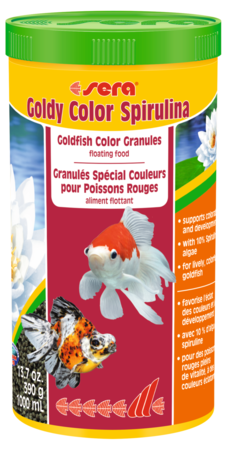 Goldy Color Spirulina - Corals Fish and Beyond