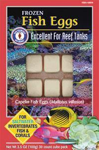 Fish Eggs Cube 3.5oz (Frozen) - Corals Fish and Beyond
