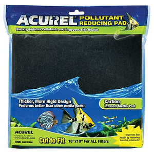 "Carbon Media Pad 10"" x 18"" - Corals Fish and Beyond"