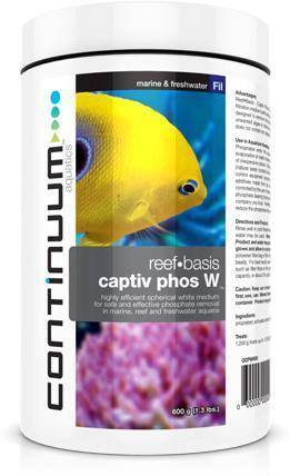 Continuum Aquatics Captiv Phos W 600g - Corals Fish and Beyond