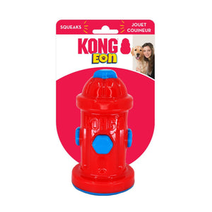 KONG EON FIRE HYDRANT DOG TOY