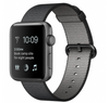 Apple Watch Series 2 Aluminiumgehäuse spacegrau 42mm mit Nylon-Armband schwarz