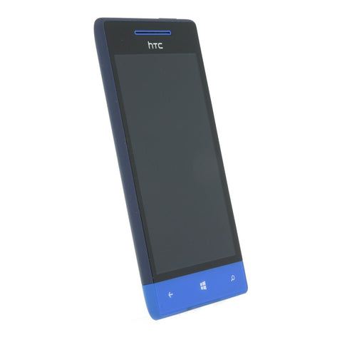 HTC Windows Phone 8s blau - asgoodasnew.com - wie neu