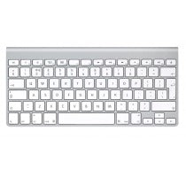 Apple Wireless Keyboard QWERTY (A1314 / MC184D/A) weiss asgoodasnew.com wie neu