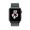 Apple Watch Series 3 Aluminiumgehäuse spacegrey 38mm mit Nike+ Sport Loop grau/blau (GPS + Cellular)