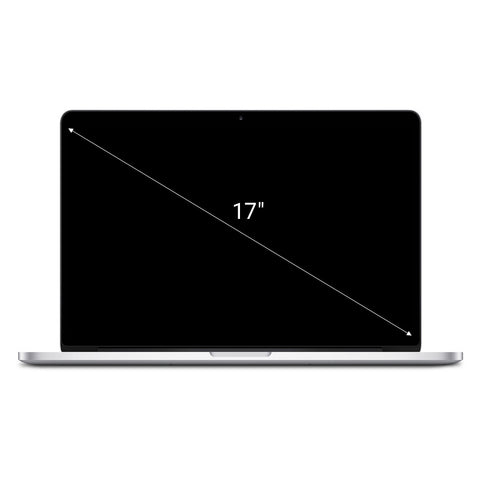 Apple MacBook Pro 2011 17'' Intel Core i7 2.2 GHz 750 GB HDD 8 GB silber