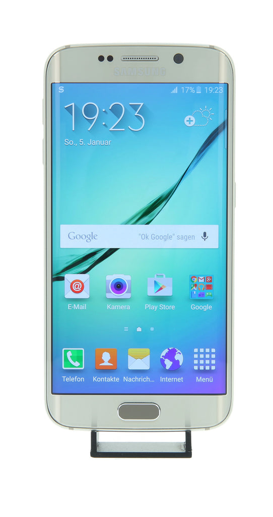 gebrauchtes samsung galaxy s6 edge plus 64gb silver. Black Bedroom Furniture Sets. Home Design Ideas