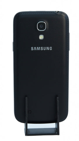 Samsung Galaxy S4 Mini I9195 LTE 8GB deep black mit Leder-Cover