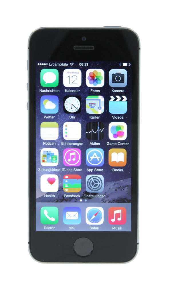 apple iphone 5s 16gb spacegrau frei f r alle netze. Black Bedroom Furniture Sets. Home Design Ideas