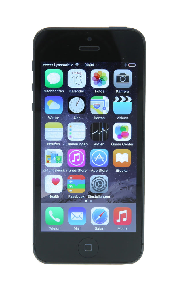 apple iphone 5 16gb schwarz g nstig kaufen asgoodasnew. Black Bedroom Furniture Sets. Home Design Ideas