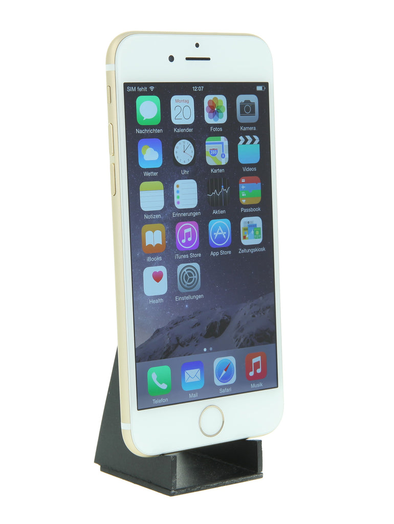 apple iphone 6 128gb gold gebraucht kaufen asgoodasnew. Black Bedroom Furniture Sets. Home Design Ideas