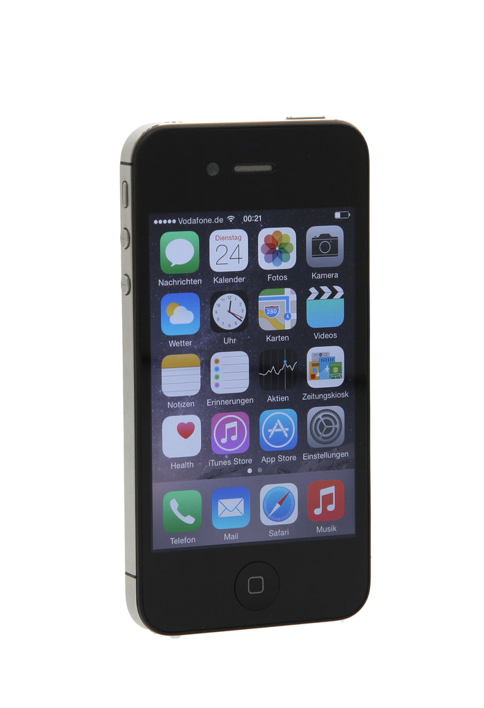 apple iphone 4s 16gb schwarz gebraucht kaufen asgoodasnew. Black Bedroom Furniture Sets. Home Design Ideas