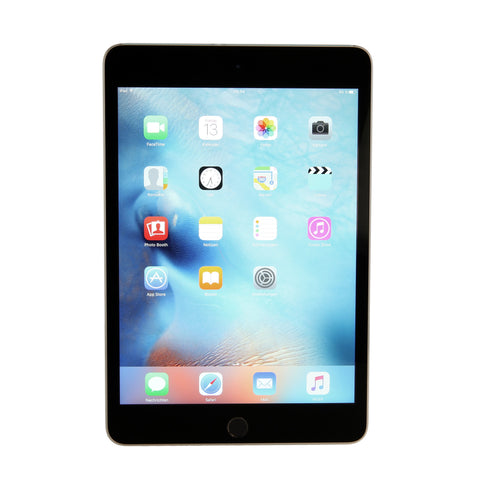 Apple iPad mini 4 32GB spacegrau - asgoodasnew.com - wie neu
