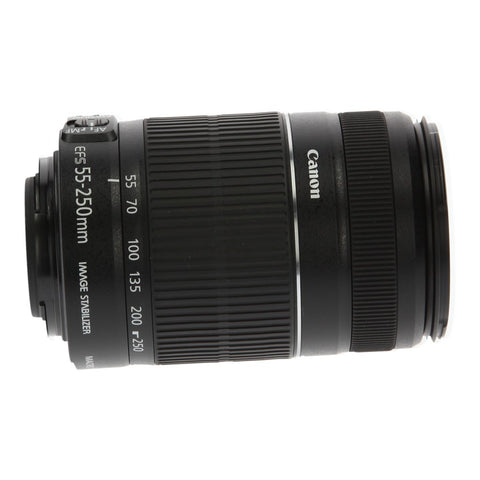 Canon EF-S 55-250mm 1:4-5.6 IS II - asgoodasnew.com - neu