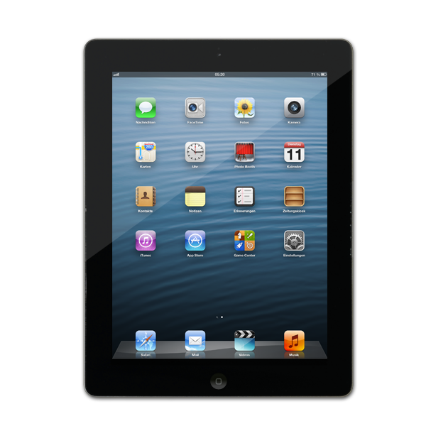 apple ipad 2 wi fi 32gb schwarz gebraucht kaufen asgoodasnew. Black Bedroom Furniture Sets. Home Design Ideas
