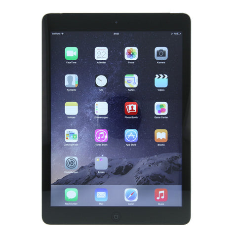 Apple iPad Air 4G 16GB spacegrau - asgoodasnew.com - wie neu